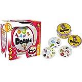 Asmodee 002964 Dobble - 1,2,3 Spiel &  200960 - Dobble; Legespiel
