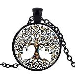 Halskette mit Anhänger Baum des Lebens Kraft des Lebens