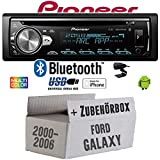 Ford Galaxy 1 - Autoradio Radio Pioneer DEH-S5000BT - Bluetooth | CD | MP3 | USB | Android | iPhone 12V Radiopaket Einbauzubehör - Einbauset