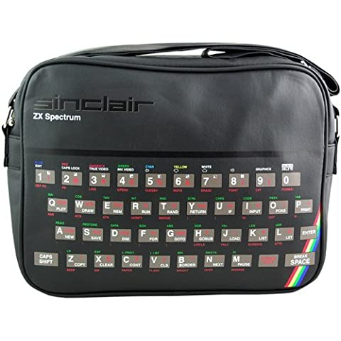Spectrum Bag. Sinclair ZX Spectrum 48K Sports Bag. Retro 80s by Pop Art Products