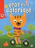 Mon gros livre de coloriage (Chat vélo)