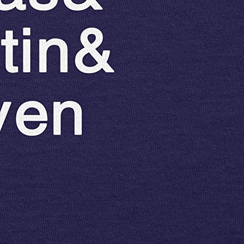NERDO - Strange Names - Damen T-Shirt Navy