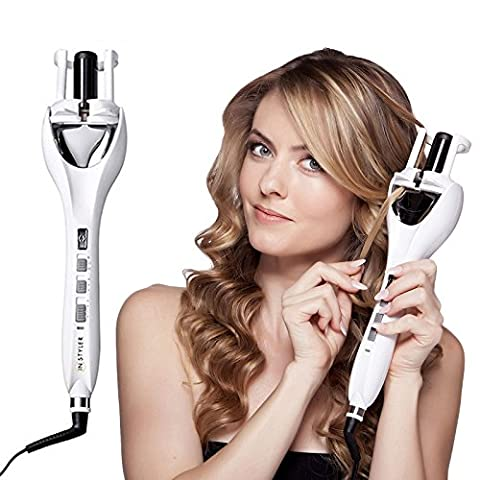 InStyler Tulip Auto Curler Automatic Curling Tong Iron Wave Machine