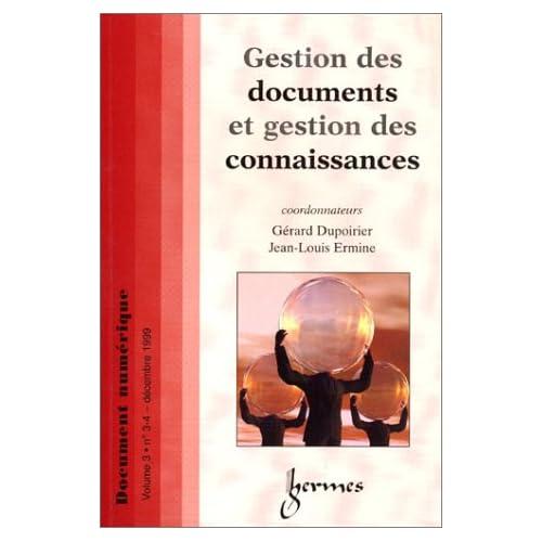 Gestion des documents et gestion des connaissances