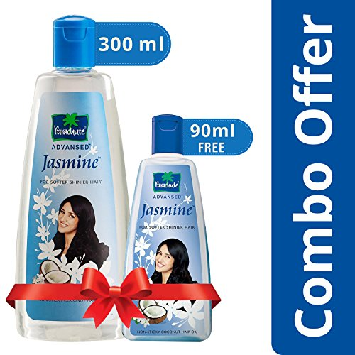 Parachute Advansed Jasmine Coconut Hair Oil, 300ml (Free 90ml)
