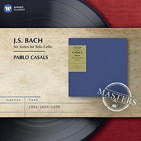 Suite No. 4 In E Flat Major, BWV 1010: Sarabande (Lento)