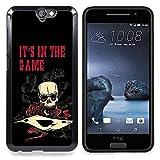 [ For HTC ONE A9 ][ Xtreme-Cover ][ Custodia Protettiva Case ShellCustodia ] - It's In The Game Casino Poker Skull