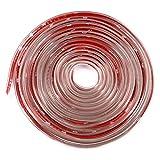 ALISTAR 10M PVC Protector Goma de Puerta de Coche Universal, Accesorios Automóviles Protección contra el Polvo, Rasguños y Choque,Junta de goma de puerta de coche (Transporte)
