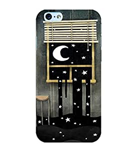 MOON Back Case Cover for Apple iPhone 6S