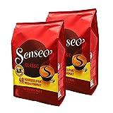 Senseo Regular / Classique, Nouveaux Design, Lot de 2, 2 x 48 Dosettes de Café