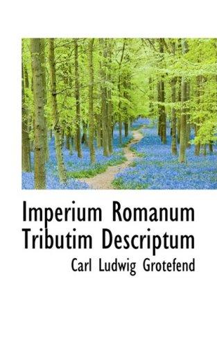 Imperium Romanum Tributim Descriptum
