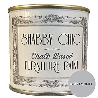 """Möbelfarbe, auf Kreidebasis, Shabby-Chic-Stil, Farbe: """"Grey Embrace"""" (""""Graue Umarmung"""") 250ml"""