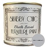 'Peinture Calcaire pour meubles Effet style shabby chic Gris «Grey Embrace, 125ml