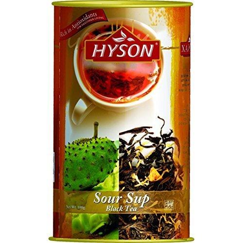 HYSON TEE Schwarzer loser Tee Exklusive Kollektion Ceylon Indischer TEA aus Sri Lanka (Schwarzer loser Tee mit Anoda 100g.)
