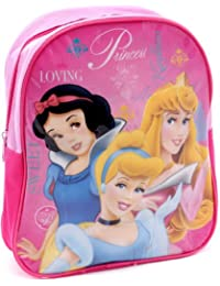 """Preisvergleich für Disney KINDER RUCKSACK """" Loving Princess """" HÖHE CA. 270 x BREITE 230 x TIEFE 80 mm - TRAGESCHLAUFE - VERSTELLBARE..."""