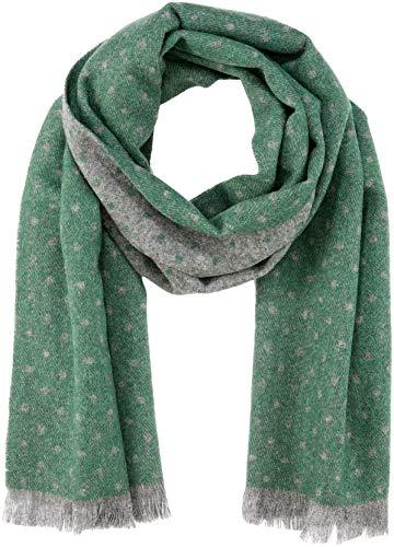 Cortefiel 2376709, Bufanda de Lana Para Mujer, Verde, talla única