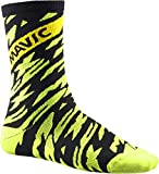 Mavic Deemax Pro High Fahrrad Socken gelb/schwarz 2018: Größe: M (39 42)