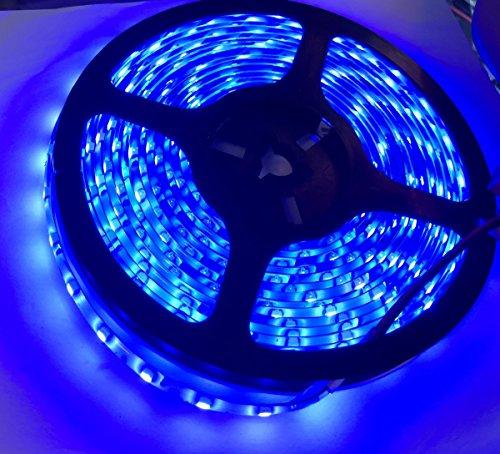 Timewanderer 5M16.4ft Blau SMD 3528 IP65 Wasserdicht LED Streifen DC12V Band Leiste mit 300 LEDs Led Strip - Blaue Led-leiste