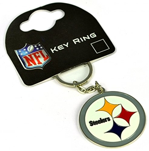 Pittsburgh Steelers American Football NFL Keyring Keychain Metal Crest Official