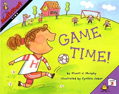 Mathstart Time Game Time Student Reader: Level 3 (MathStart 3)