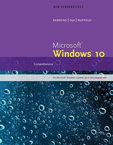 New Perspectives Microsoft Windows 10: Comprehensive por Lisa Ruffolo
