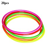 #6: 20PCS Ring Toss Toy Simple Stress Relief Ring Toss Game Toss Game Toy for Kids