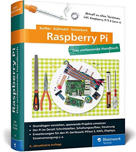 harga Raspberry Pi: Das umfassende Handbuch, komplett in Farbe – aktuell zu Raspberry Pi 3 und Zero W (Gebundene Ausgabe) Bukupedia