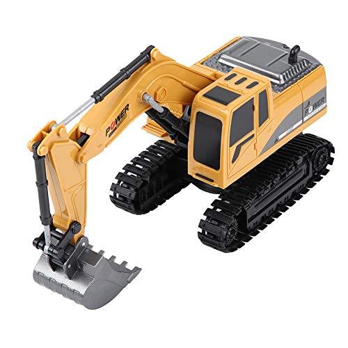 RC Auto kaufen Kettenfahrzeug Bild 5: Fernbedienung Bagger, 2,4 GHz 6 Kanäle Fernbedienung Bagger LKW 1/24 RC Engineering Auto Baufahrzeug Spielzeug Geschenk für Kinder*