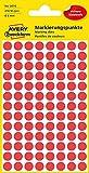 AVERY Zweckform 3010 selbstklebende Markierungspunkte rot