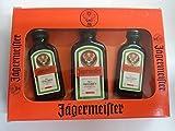 Cofre 3 mini Jägermeister 1 de 40 ml 2 de 20ml