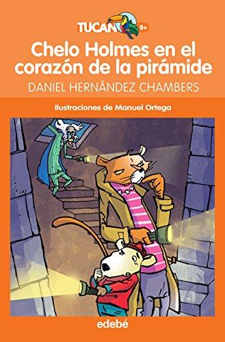 Chelo Holmes en el corazón de la pirámide (Tucán naranja) por Daniel Hernández Chambers
