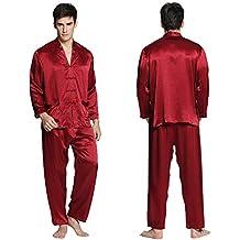 Lilysilk Pijamas Hombre De Seda De 3 Piezas Con Botones Exóticos 100% Seda De 22 Momme
