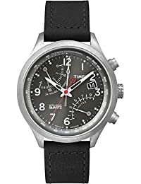 Timex Timex® Fly-back Chronograph mit IQ - Reloj, de color negro