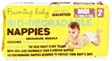 Beaming Baby - Bio-Degradable Nappies, Pannolini Biodegradabili, misura 2 media, 40 pannolini