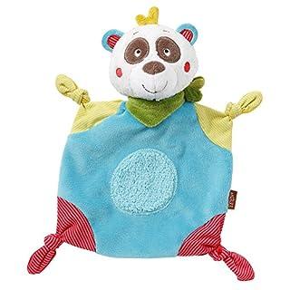 Fehn 067354 Schmusetuch Panda / Schnuffeltuch mit Panda-Köpfchen zum Greifen, Fühlen, Knuddeln und Liebhaben für Babys und Kleinkinder ab 0+ Monaten