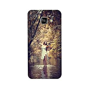 Yashas High Quality Designer Printed Case & Cover for Samsung Galaxy J5 Prime (Girl With Guitar)