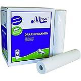 Toallas de examen pure guata 2 x 20 g/m², A4, cartón, 12 paquetes de 2 lonas 150 unidades, 50 x 35 cm-J211LAT