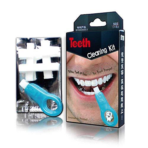 Herramienta de blanqueamiento de dientes, kit de limpieza de dientes para adultos, cepillo de manchas de dientes