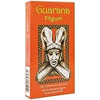 BADERs Guarana Fitgum aus der Apotheke. Kaugummi kauen für mehr Energie mit Guarana Koffein. Zuckerfrei, mit Xylit. 24 Kaugummi-Dragées. PZN: 08529013