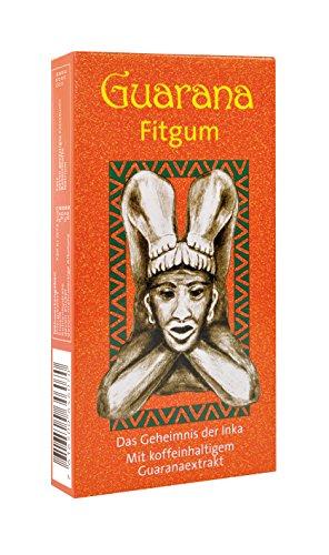 BADERs Guarana Fitgum aus der Apotheke. Kaugummi für mehr Energie mit Guarana Koffein. Kauen unterstützt Konzentration und Leistung. Zuckerfrei, mit Xylit. Pharmazentralnummer: 08529013 (Kaugummi Energie Xylit)