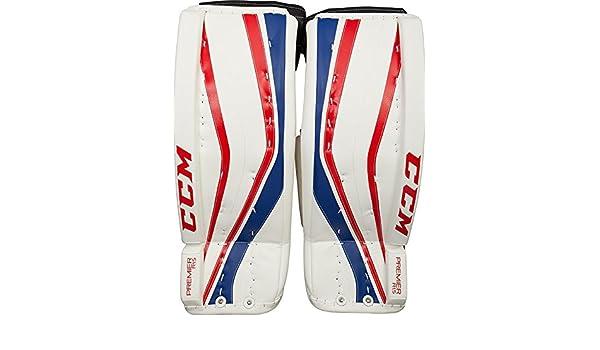 CCM Premier R 1 5 Hockey Goalie Leg Pads [JUNIOR]: Amazon co