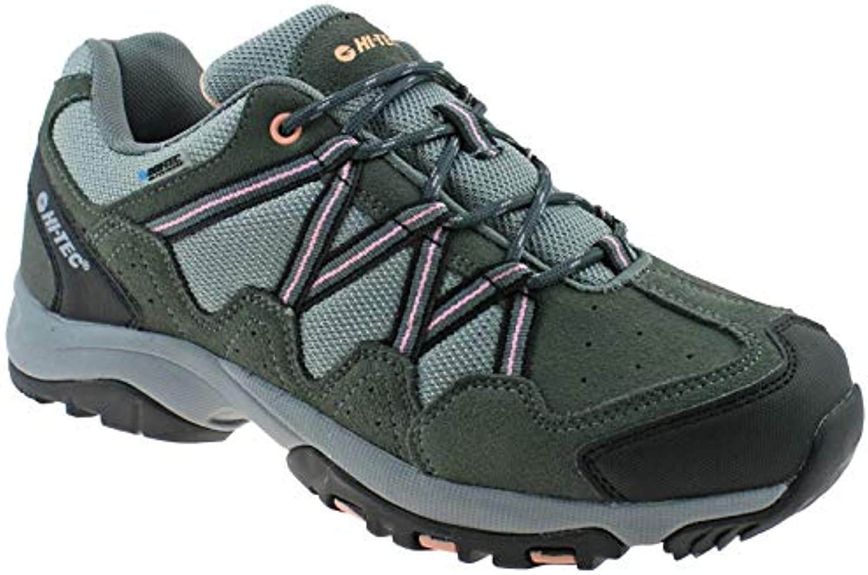 Hi-Tec Ladies Rambler WP Charcoal Blush Waterproof Walking Hiking scarpe -UK 8 (EU 42) | Conosciuto per la sua bellissima qualità  | Sig/Sig Ra Scarpa
