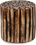 Azeem Arts Antique Wooden Round Coffee Table for Living Room Furniture Amazon Rs. 1099.00