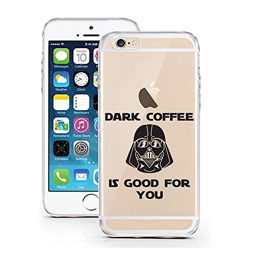 iPhone 6 6S Hülle von licaso® für das Apple iPhone 6 aus TPU Silikon Not my PROB-LLAMA Lama Spucke Style Muster ultra-dünn schützt Dein iPhone 6S & ist stylisch Schutzhülle Bumper in einem (iPhone 6 6 Dark Coffee