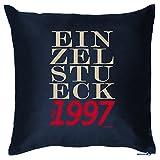 Zum 18. Geburtstag! Kissen mit Füllung - EINZELSTÜCK seit 1997- Ein cooles Geschenk zum 18ten! Zur Volljährigkeit!