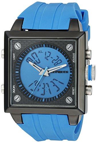 CEPHEUS Herren-Armbanduhr Analog Digital Quarz Silikon CP900-633A