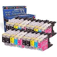 Premium Set di 20 cartucce di inchiostro compatibile con Brother LC 1220 LC 1240 LC 1280 XL (nero , Cyan , Magenta , Yellow) 20xLC-1220-Brother