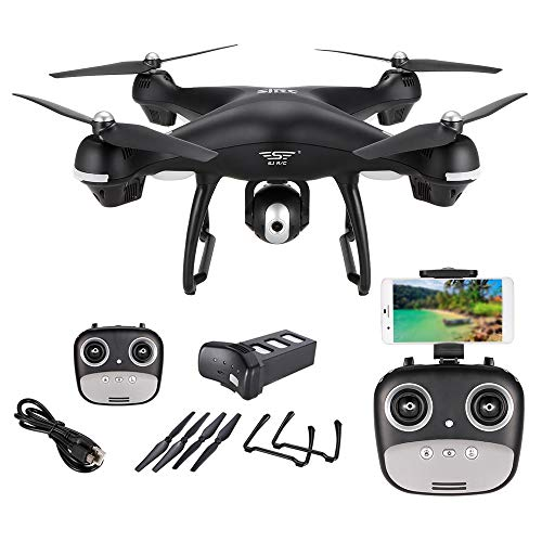 Sj r/c s70w 2.4ghz 1080p camera wifi fpv drone altitude hold g-sensor follow me mode gps rc quadcopter