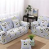 JITIAN Sofabezug Universal Elastic Couch Cover Leder Vintage Schonbezug Full Cover Stoff Kombination Sitzkissen