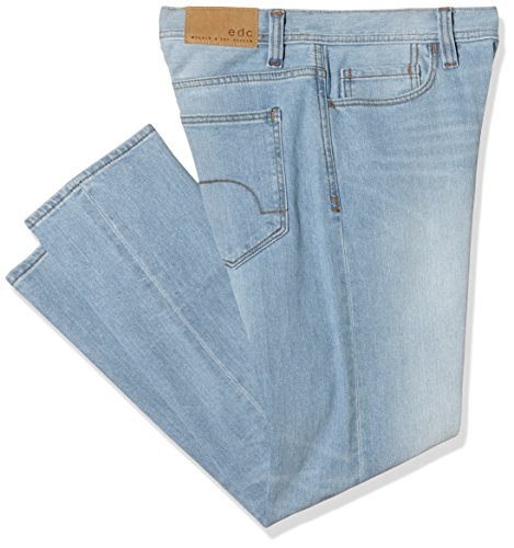 edc by ESPRIT Slim Fit 025CC2B024, Jeans Uomo, Blu (C Light Blue 956), 52 IT (Taglia Produttore: 38W/36L)